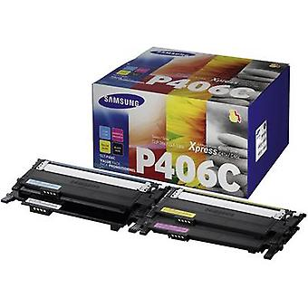 Samsung Toner cartridge combo pack CLT-P406C CLT-P406C/ELS Original Black, Cyan, Magenta, Yellow 1500 pages