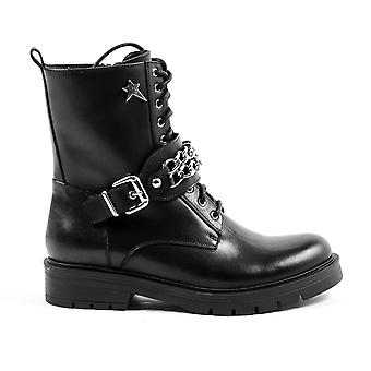 Andrew Charles Womens Short Boot Black Amy