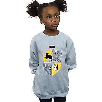 Harry Potter Girls Hufflepuff Shield Sweatshirt