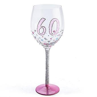 Vetro di vino compleanno Sparkle