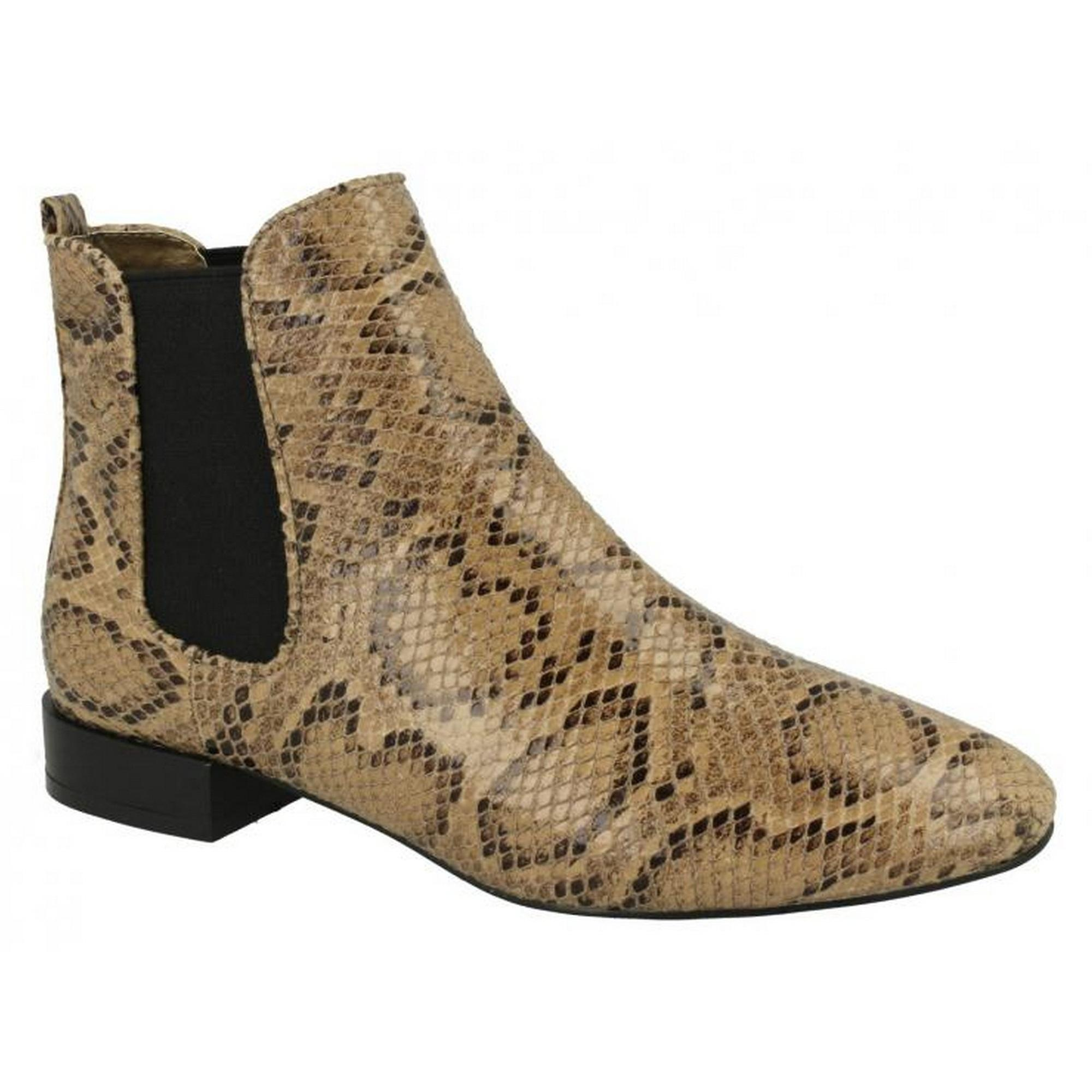 On Spot Boots On Slip Womens Ankle Ladies rrWdqcF