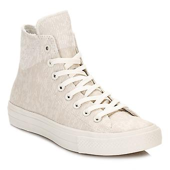 Converse All Star Chuck Taylor II Beige Mens Canvas Trainer