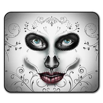 Mask Stylish Face  Non-Slip Mouse Mat Pad 24cm x 20cm | Wellcoda