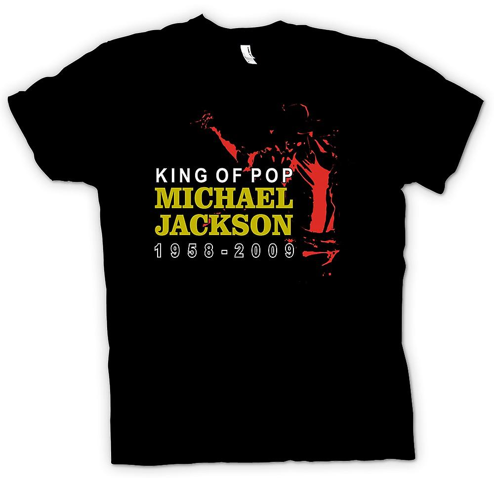 Womens T-shirt - Michael Jackson King Of Pop - New