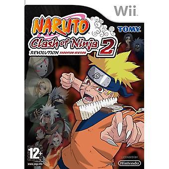 Naruto Clash of Ninja Revolution 2 (Wii)
