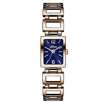 s.Oliver vrouwen Watch SO-3067-MQ Rosé gouden horloge