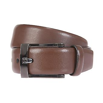 Strellson belts men's belts leather belt Cognac 1601