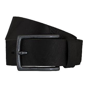 LLOYD Men's belt belts men's belts leather belt black 6609
