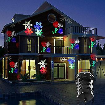 Globale verlichting 10 patroon Outdoor LED Projector licht Christmas Xmas Halloween Party