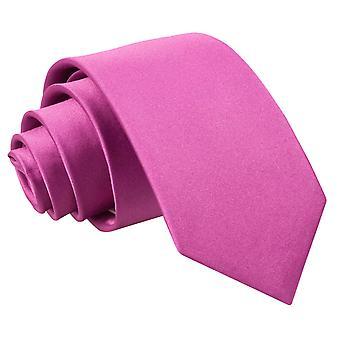 Plaine de Mulberry Satin régulier cravate pour les garçons