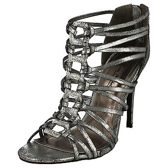 Ladies Anne Michelle Knotted Front High Heel Sandal L3421