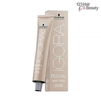 Schwarzkopf Igora Royal Nude Tones 60ml - 7/46 Medium Blonde Beige Chocolate
