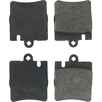 StopTech 308.08760 Street Brake Pad (Rear with Shims), 4 Pack