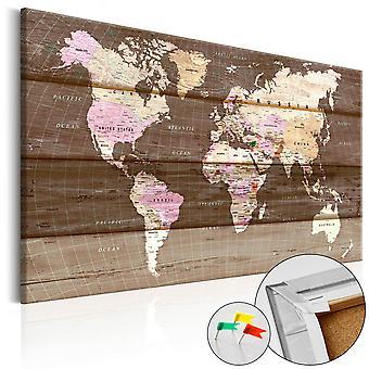 Bild auf Kork - Holzwelt [Cork Karte]