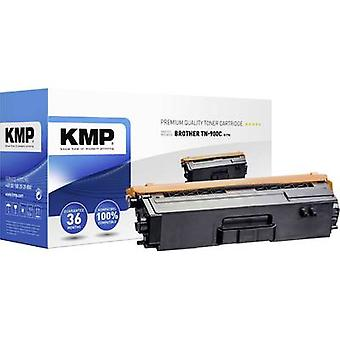 KMP Toner cartridge replaced Brother TN-900C, TN900C Compatible Cyan 6000 pages B-T70