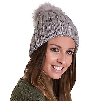 Outdoor Look Womens/Ladies Cannich Pom Pom Beanie Ski Hat