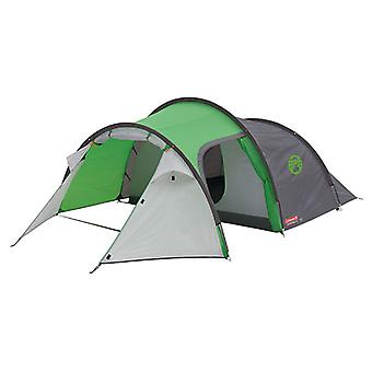 Coleman Cortes Tunnel Tent Green and Grey 4 Person