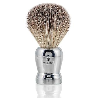 Vie-Long 16403 Grey Tip Badger Shaving Brush
