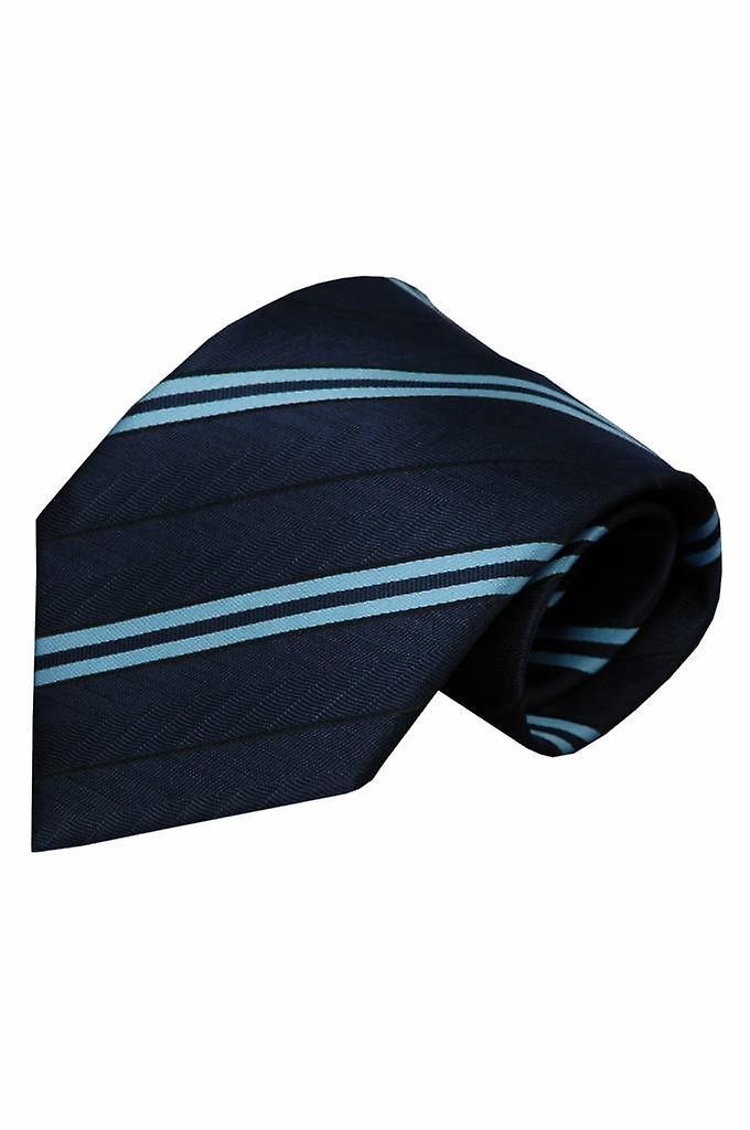 Blauwe stropdas Aosta 01