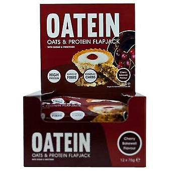 Oatein Oats & Protein Flapjack 12 Bars (Sport , Muscle mass , Proteins)