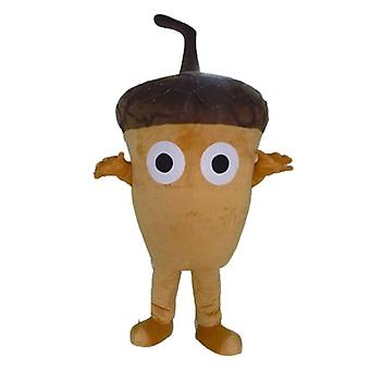 mascot Acorn giant, Brown, very original and funny SPOTSOUND