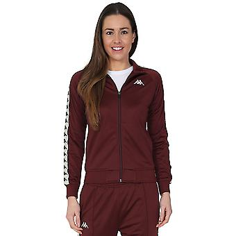Wanniston Zip Front Track Top Kappa féminines