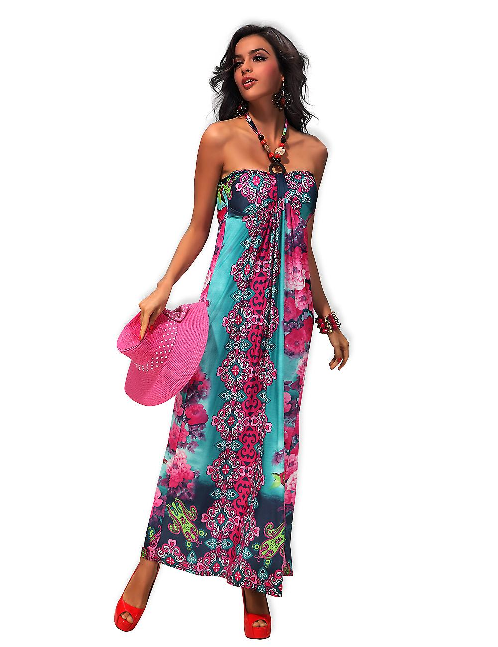 Waooh - Fashion - Dress Sleeveless liberty motif