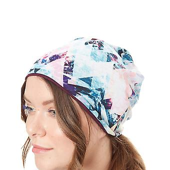 Buff Irised Aqua Microfibre Reversible Beanie