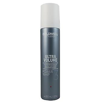 StyleSign GOLDWELL ultra volumen encendido batir espuma de volumen 300 ml
