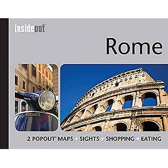 Rome InsideOut Map & Travel Guide: Handy pocket-size Rome city guide with 2 pop-up maps