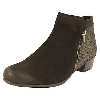 Ladies Remonte Ankle Boots D3579