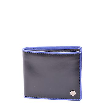 Fred Perry Blue Leather Wallet