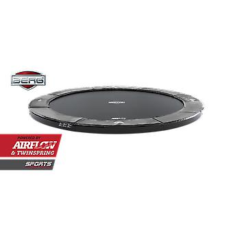 BERG FlatGround Elite 330 11ft Trampoline Sports Series Grey