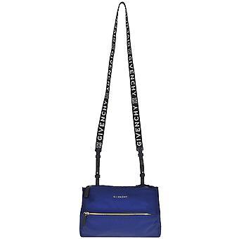 Givenchy Blue Leather Shoulder Bag