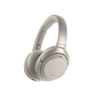 Sony WH-1000XM3 Wireless Noise Cancelling Headphones with 30 Hours Battery Life, Quick Charge, Gesture Control, Ambient Sound Mode, Amazon Alexa � Silver