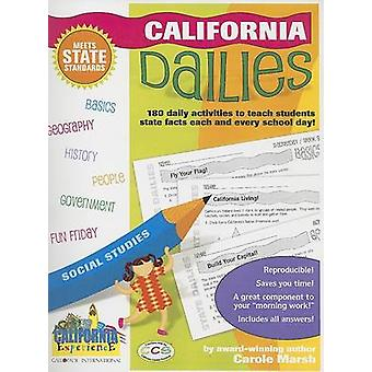 California Dailies - 180 Daily Activities to Teach Students State Fact