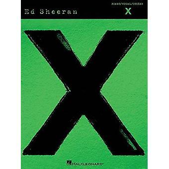 Sheeran Ed X PVG Songbook Bk - 9781495001970 Book