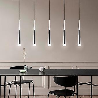 Industrial Ceiling Pendant Hanging Lamp 5 Pendant Rectangular Canopy Bi  Directional  lighting  New