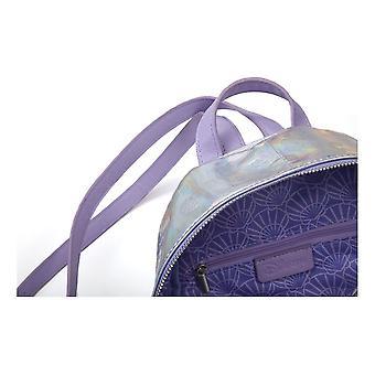 Disney Little Mermaid AOP Debossed Pattern Ladies Backpack (MP312507LMR)