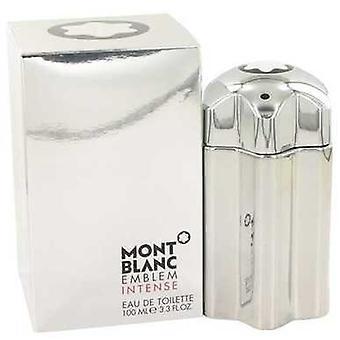 Montblanc embleem intense door de Mont Blanc Eau de Toilette Spray 3,4 oz (mannen) V728-525965