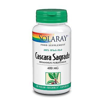 Solaray Cascara Sagrada 400mg Capsules 60 (1058)