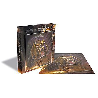 Rock zagen-Motorhead Orgasmatron-500 stuk puzzel