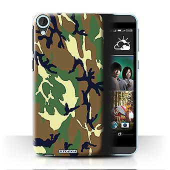 STUFF4/Housse pour HTC Desire 820/vert 4/Camouflage Army Navy