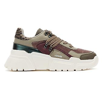 Victoria Totem Womens Prune Purple Trainers