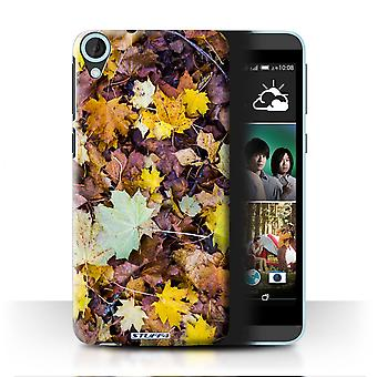 STUFF4 Case/Cover for HTC Desire 820s Dual/Leaves/Autumn Season