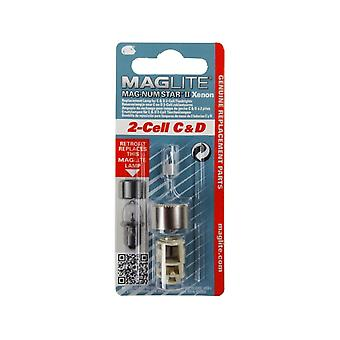 Maglite 2 C and D Cell Magnum Star Xenon II Replacement Bulb