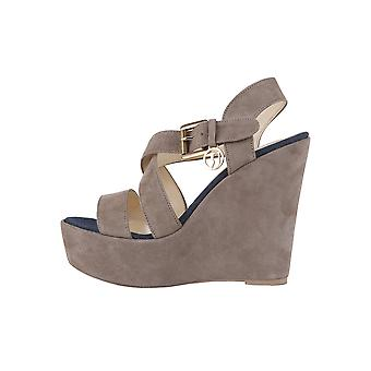 Trussardi Wedges Brown Women's