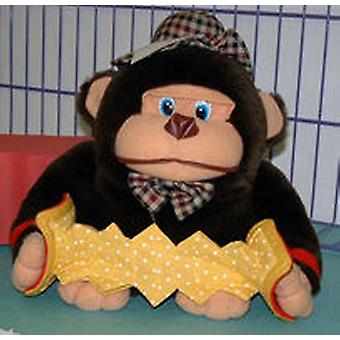 Import Stuffed Gorilla With Accordion (Toys , Dolls And Accesories , Soft Animals)