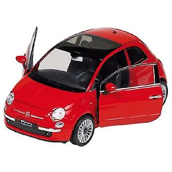 Goki Fiat 500 (2007), die-cast, 1:24 (Toys , Vehicles And Tracks , Mini Vehicles , Cars)