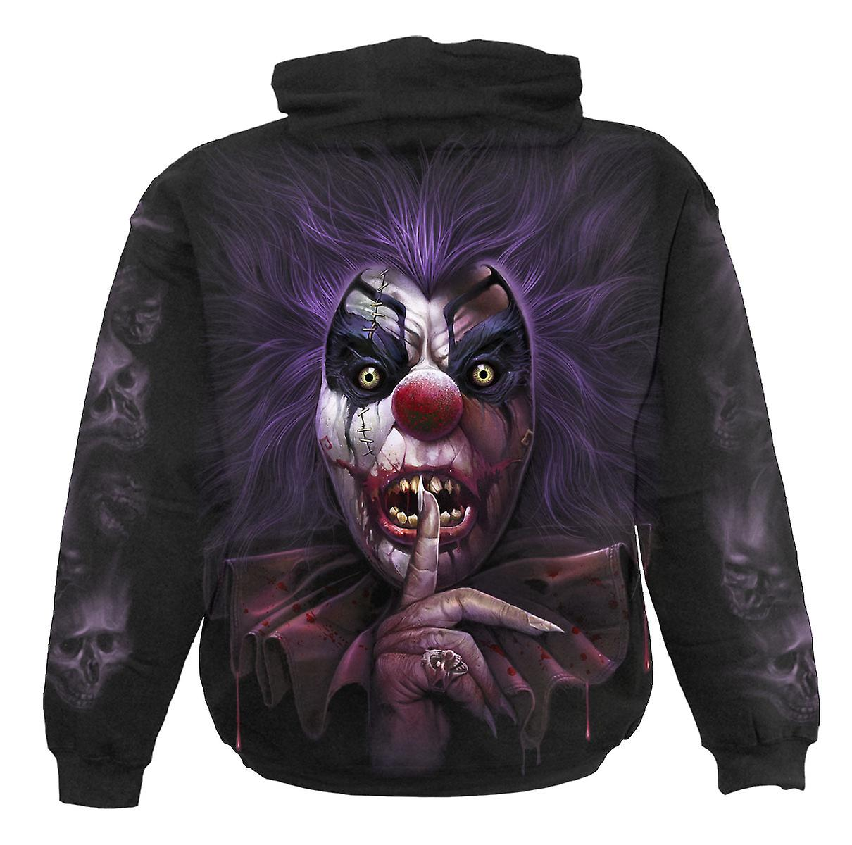 Spiral Direct Gothic MADCAP - Hoody Black|Horror|Undead|Blood|Tribal